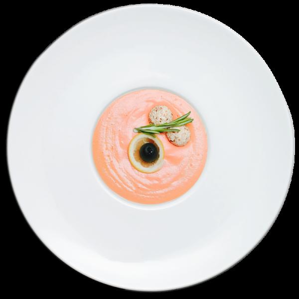 Фиш-крем из лосося с сыром «филадельфия» 1