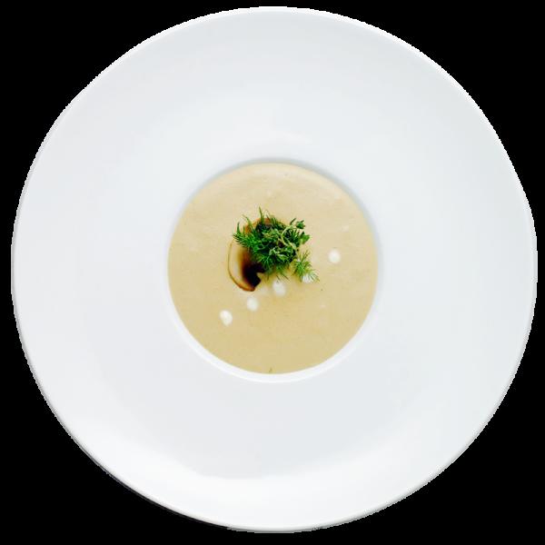 Крем-суп из лесных грибов 1